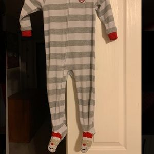 Toddlers feety pajamas